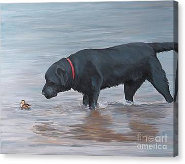 Life Guard Canvas Print by Charlotte Yealey