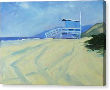 Life Guard Canvas Print