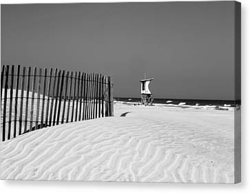 Life Guard Tower Canvas Print by Denis Lemay