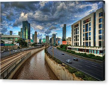Canvas Print featuring the photograph Life In The Fast Lane by Ronsho