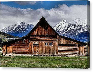 Life In The Tetons Canvas Print by Dan Sproul