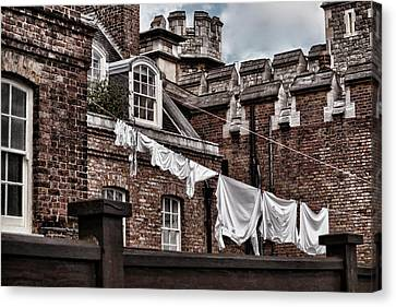 Life In The Tower Of London 2 Canvas Print