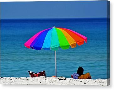 Life Is A Sunny Beach 001 Canvas Print