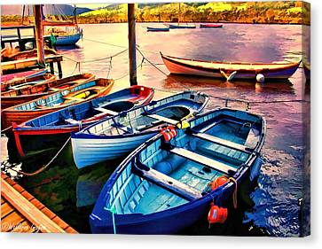 Life Is But A Dream Canvas Print by Wallaroo Images