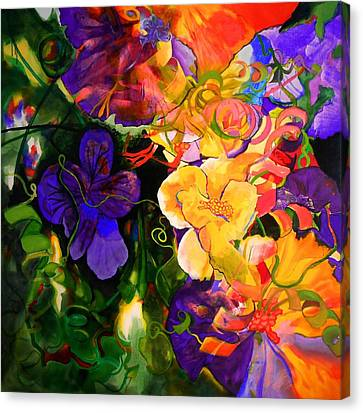Life Of Flowers Canvas Print by Georg Douglas