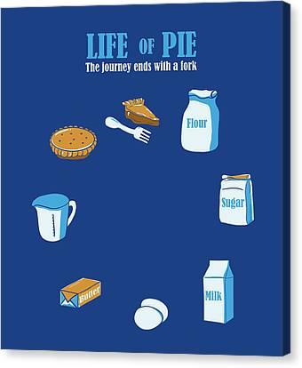 Life Of Pie Canvas Print