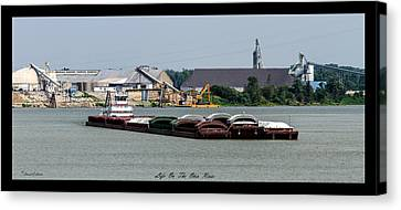 Life On The Ohio River 2 Canvas Print