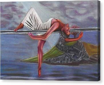 Life Requires Balance Canvas Print by D Rogale