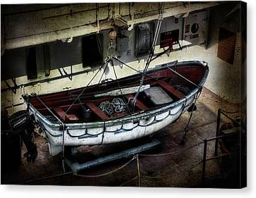 Lifeboat Canvas Print by Evie Carrier