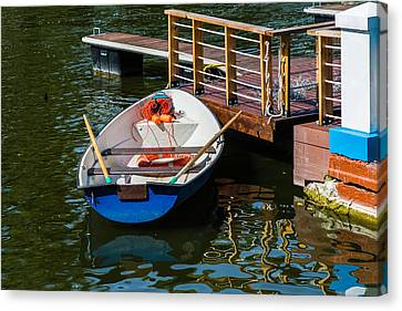Lifeboat On Duty - Featured 3 Canvas Print by Alexander Senin