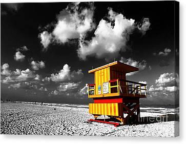 Lifeguard Fusion Canvas Print by John Rizzuto