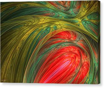 Intense Color Canvas Print - Life's Colors by Lourry Legarde