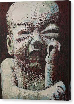 Lifes Rough Canvas Print by Kate Tesch