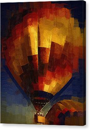 Canvas Print featuring the digital art Lift by Kirt Tisdale