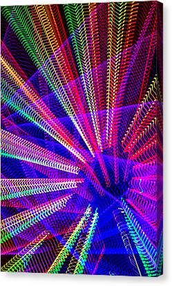 Light Abstract Canvas Print by Garry Gay