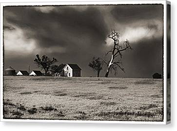 Canvas Print featuring the photograph Light After The Storm by James Steele