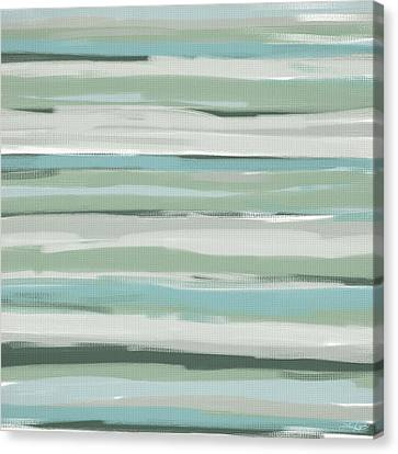 Light And Blue Canvas Print by Lourry Legarde