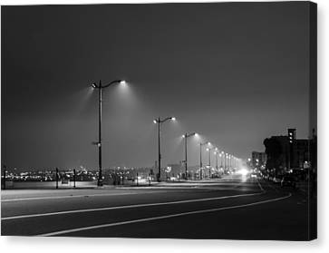 Canvas Print featuring the photograph Light And Lines by Kevin Bergen