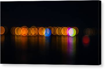 Light Balls Canvas Print by Jb Atelier