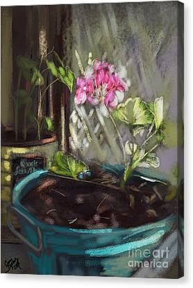 Light Canvas Print by Carrie Joy Byrnes