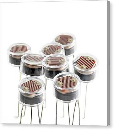 Light Dependent Resistors Canvas Print