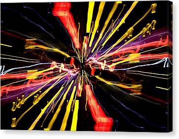 Light Fantastic 04 Canvas Print by Natalie Kinnear