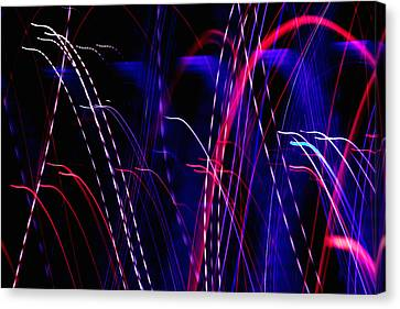 Light Fantastic 05 Canvas Print by Natalie Kinnear