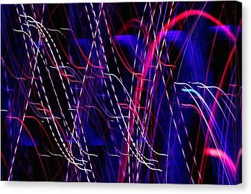 Light Fantastic 06 Canvas Print by Natalie Kinnear
