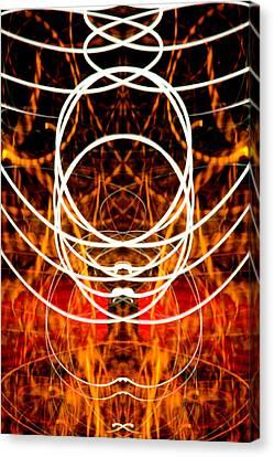 Light Fantastic 31 Canvas Print by Natalie Kinnear