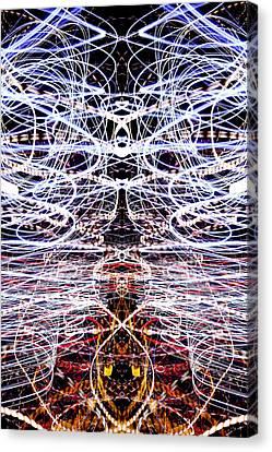Light Fantastic 38 Canvas Print by Natalie Kinnear