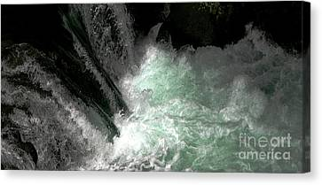 Light From Beneath Canvas Print
