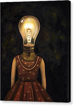 Light Headed Canvas Print