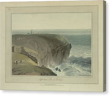 Light-house Canvas Print by British Library