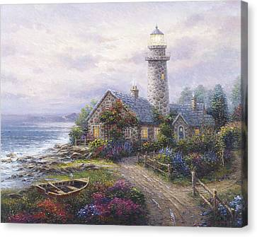 Light House Canvas Print by Ghambaro