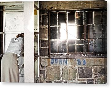 Light In Abandonment Canvas Print by Kellice Swaggerty