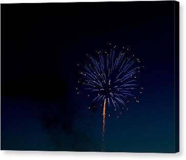 Light In The Night Canvas Print by Megan Tangeman
