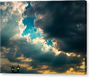 Light In The Storm Canvas Print