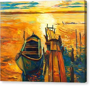 Light Canvas Print by Ivailo Nikolov