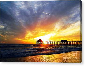 Light My Way Canvas Print by Everette McMahan jr