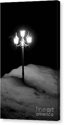 Canvas Print featuring the photograph Light My Way  by Sarah Mullin