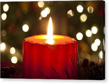 Light Of Christmas Canvas Print by Andrew Soundarajan