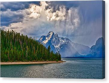 Light On Moran Canvas Print by Greg Norrell