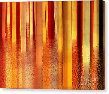 Light On The Water Canvas Print by Robert Ball