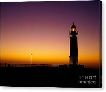 Light On Canvas Print