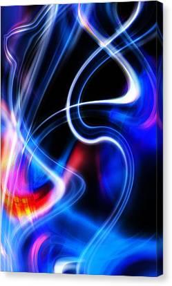 Canvas Print featuring the digital art Light Orgasmic by Selke Boris