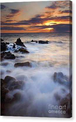 Light Over Lanai Canvas Print by Mike  Dawson