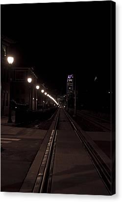 Light Rail Canvas Print by Doug Hubbard