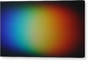 Light Refracted - Rainbow Through Prism Canvas Print by Denise Beverly