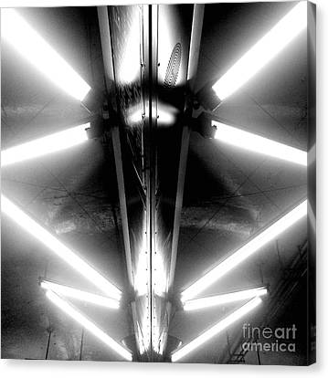 Light Sabers Canvas Print by James Aiken