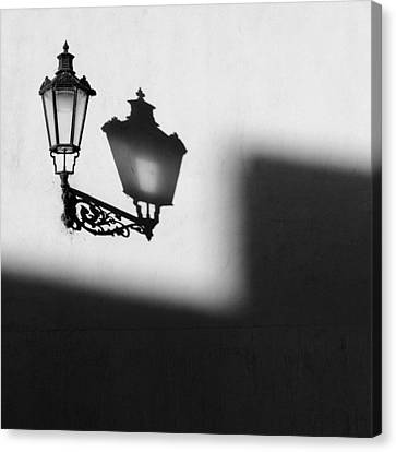 Light Shadow Canvas Print by Dave Bowman